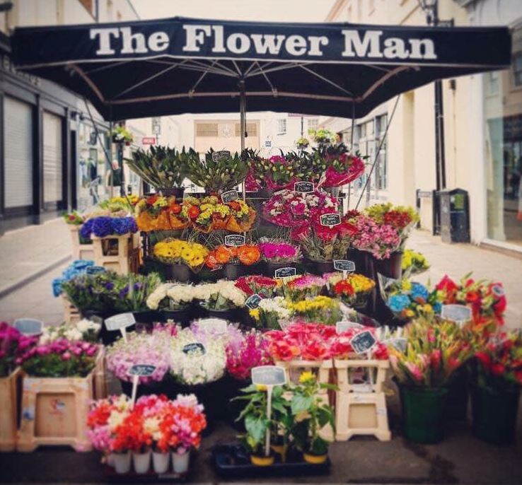 Wedding Flowers Cheltenham: About The Flower Man Florist Established Over 30 Years In